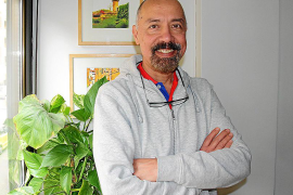 José Maria Goitia ist seit 2004 an der Playa de Palma beschäftigt - und zeigt sich durchaus zufrieden mit seinem Job.