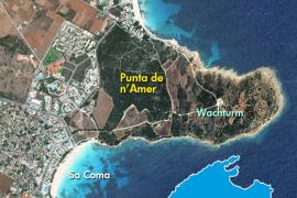Die Punta de n'Amer ist eine Halbinsel im Osten von Mallorca, die sich rund zwei Kilometer ins Meer erstreckt.