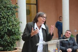 Die deutsche Konsulin Sabine Lammers während ihrer Rede.