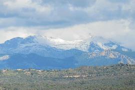 Schneedecke am Puig Major