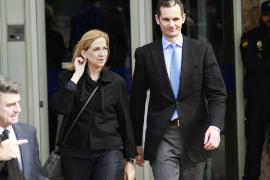 Urdangarin und Cristina vor Gericht auf Mallorca.