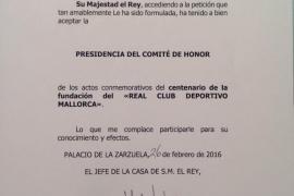 Real Mallorca verpflichtet Felipe VI.