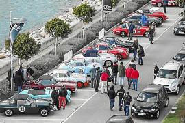 Auch im vergangenen Jahr war das Fahrerlager in Puerto Portals.