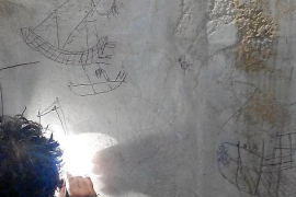 Antike Boots-Graffiti in Capdepera entdeckt