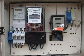 Der Strom wird mittlerweile digital abgelesen