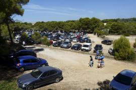 Im Küstenort Ses Covetes muss ein neuer Parkplatz gefunden werden