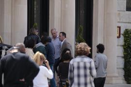 Der Schauspieler Jean Reno dreht im Hotel Maricel
