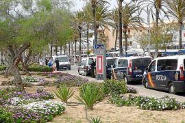 Polizeiaufgebot an der Playa de Palma wird aufgestockt