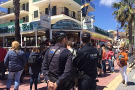 Mallorca-Polonaise wird zu Taxi-Korso