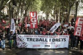 1. Mai ohne Krawalle auf Mallorca