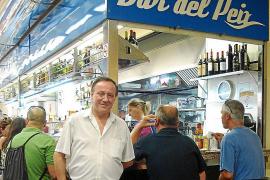 Traditionslokal auf dem Olivar-Markt wird chinesisch