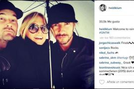 """""""Willkommen im regnerischen Mallorca"""" postete Heidi Klum am Sonntag auf Instagram"""