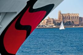 Gleich drei Aidas im Hafen von Palma