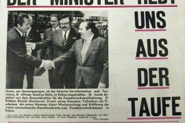 So sah die Titelseite des ersten Mallorca Magazins aus, das am 19. Juni 1971 in die Zeitungsläden auf der Insel kam.