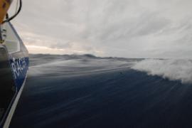 Allein auf hoher See