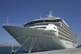 In Palmas Hafen festgemacht