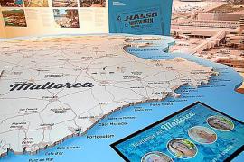 Mallorca nimmt ein Drittel der Ausstellung ein.