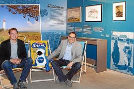 Die Ausstellungsmacher Arnulf Sieben-eicker (r.) und Mathias Wagener hielten sich mehrfach auf Mallorca zur Recherche auf.
