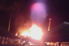 Explosion in Industriegebiet in Manacor