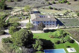 "Rund 120.000 Quadratmeter Land gehören zu dem Anwesen ""Sa Vinya""."