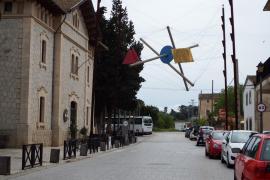Skulptur am Bahnhof von Sineu soll weg