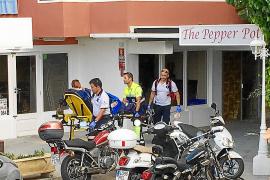 Tourist stürzt aus Hotel in Santa Ponça