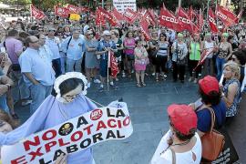 Zimmermädchen fordern menschenwürdige Arbeitsbedingungen