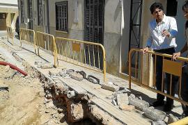 Römischer Graben bei Straßenarbeiten entdeckt