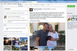 Michael Douglas und Til Schweiger arbeiten zusammen