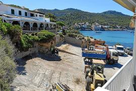 Bauarbeiten in Sant Elm verärgern Anwohner
