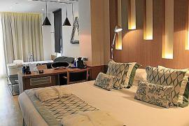 Eine Junior-Suite im Hotel Garonda.