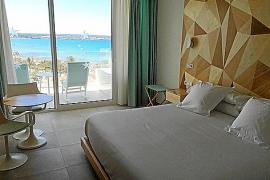 Eine Junior-Suite im Hotel Iberostar Playa de Palma.