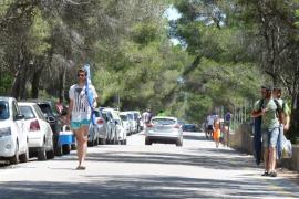 Am Es-Trenc-Strand kommen erstmals Minibusse zum Einsatz