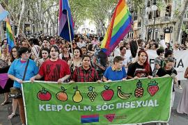 Großkundgebung für sexuelle Vielfalt in Palma