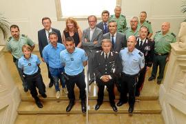 Internationale Polizisten patrouillieren auf Mallorca