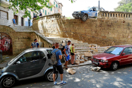 Kurioser Unfall in der Inselhauptstadt