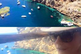 Catherine weiß die Schönheiten Mallorcas zu schätzen.