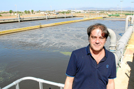 Víctor Fernández Ferragut leitet Palmas Kläranlagen