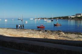 Brite tot von Ibiza nach Mallorca getrieben