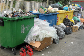 Müllstreik in Manacor und Porto Cristo dauert an