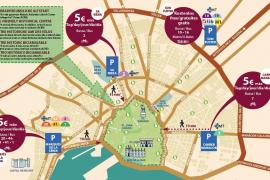 Palma rüstet vier Parkhäuser für Urlauber um