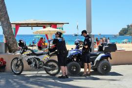 Calvià hat 1500 Strafzettel wegen Verstößen gegen Vorschriften ausgestellt