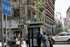 In Palma werden die Taxis knapp