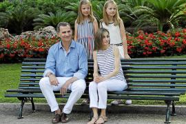 Die Königsfamilie grüßt Mallorca