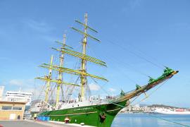 Beck's-Schiff erneut in Palma de Mallorca