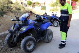 Zwei Quadfahrer bei Cap Blanc verunglückt