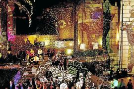 Lichtkunst in der Villa Wesco