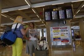 Knapp jeder dritte Flieger in Palma ist pünktlich