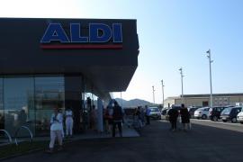 Der neue Supermarkt befindet sich an der Durchgangsstraße von Manacor.