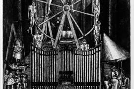 """Das Werk von Rudolph von Ripper: """"Hitler spielt die Orgel des Hasses"""", zierte Anfang 1939 die Titelseite des """"Time""""-Magazins in"""